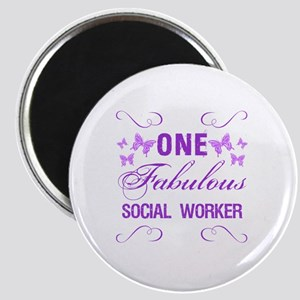 One Fabulous Social Worker Magnet