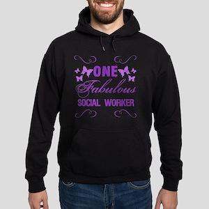 One Fabulous Social Worker Hoodie (dark)
