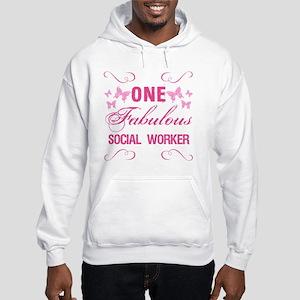 One Fabulous Social Worker Hooded Sweatshirt