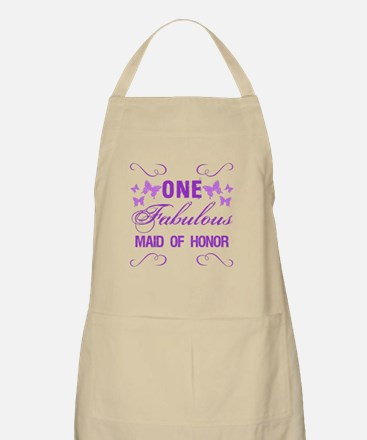 One Fabulous Maid Of Honor Apron