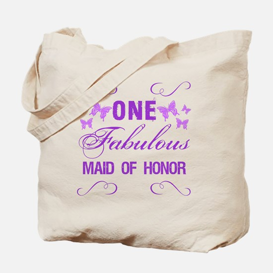 One Fabulous Maid Of Honor Tote Bag