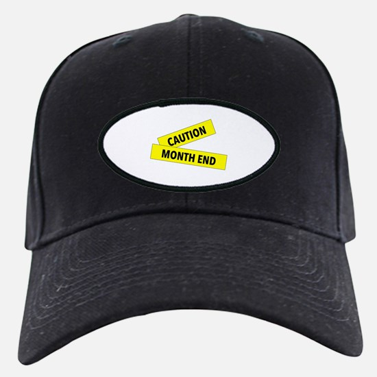 Month End Caution Tape Baseball Hat