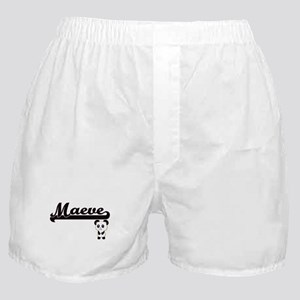 Maeve Classic Retro Name Design with Boxer Shorts