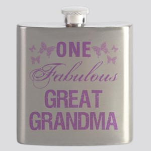 One Fabulous Great Grandma Flask