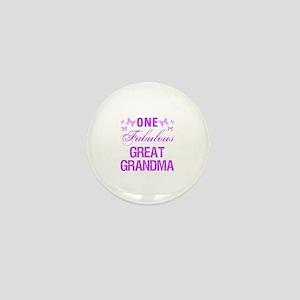 One Fabulous Great Grandma Mini Button