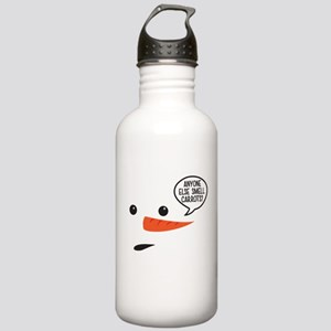Anyone else smell carrots? Funny snowman Water Bot