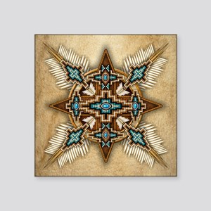 Native American Style Mandala 26 Sticker