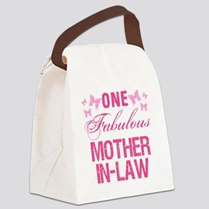 One Fabulous Mother-In-Law Canvas Lunch Bag