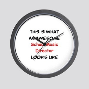 awesome school music director Wall Clock