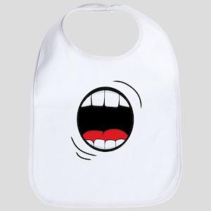 Halloween Monster Mouth Bib