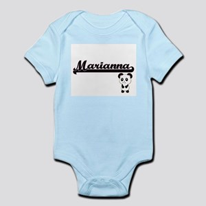 Marianna Classic Retro Name Design with Body Suit