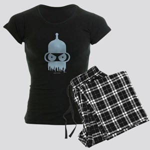 Futurama Bender City Women's Dark Pajamas