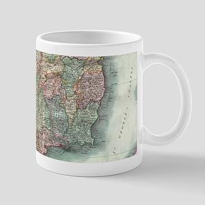 Vintage Map of Ireland (1799) Mugs