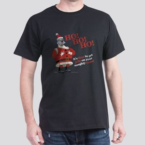 Futurama Santa Claws Dark T-Shirt