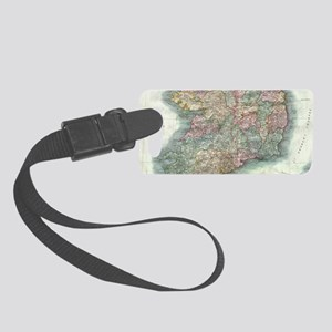 Vintage Map of Ireland (1799) Small Luggage Tag