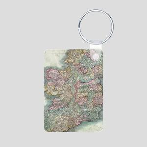 Vintage Map of Ireland (1799) Keychains