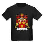 Descamps Family Crest  Kids Dark T-Shirt