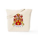 Descamps Family Crest  Tote Bag