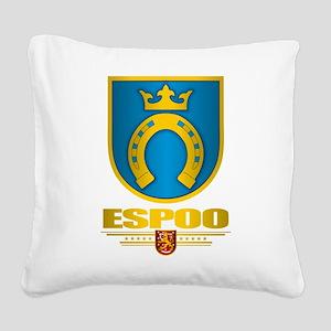 Espoo Square Canvas Pillow