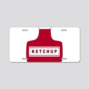 Ketchup Aluminum License Plate