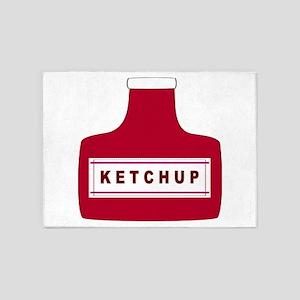 Ketchup 5'x7'Area Rug