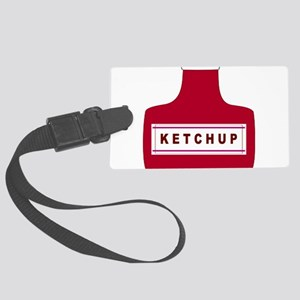 Ketchup Luggage Tag