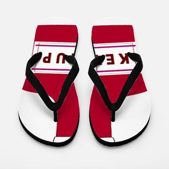 Ketchup Flip Flops