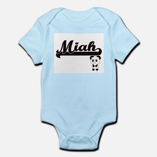 Miah Classic Retro Name Design with Pand Body Suit