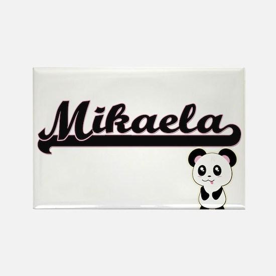 Mikaela Classic Retro Name Design with Pan Magnets
