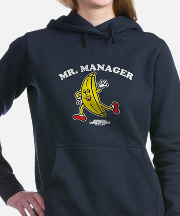 Mr. Manager - Dark Women's Hooded Sweatshirt