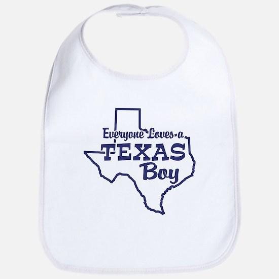 Texas Boy Bib