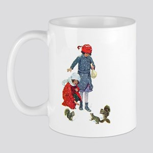 FEEDING THE SQUIRRELS Mug