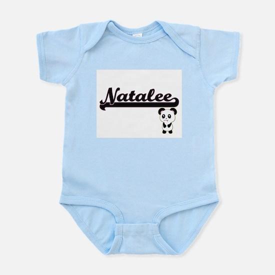 Natalee Classic Retro Name Design with P Body Suit