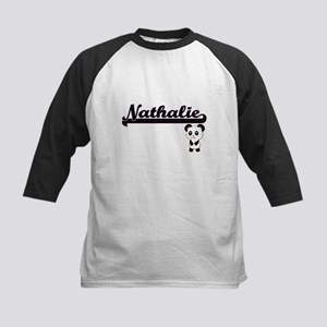 Nathalie Classic Retro Name Design Baseball Jersey