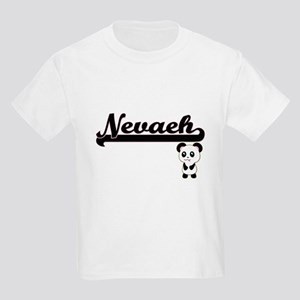 Nevaeh Classic Retro Name Design with Pand T-Shirt