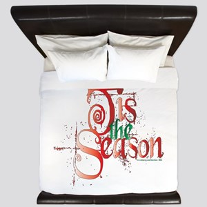 Tis the Season King Duvet