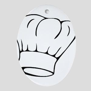 Chef Ornament (Oval)