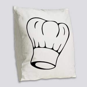 Chef Burlap Throw Pillow
