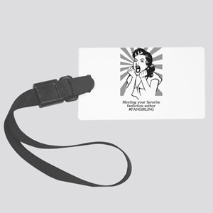 Fangirling Luggage Tag