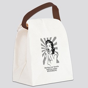Fangirling Canvas Lunch Bag