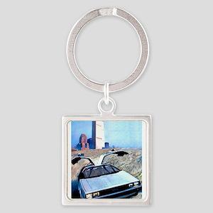 Delorean DMC 12 World Trade Center Keychains
