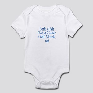 Little Half Pint a Cider Half Infant Bodysuit