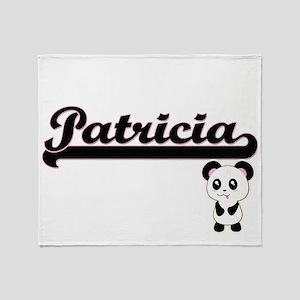 Patricia Classic Retro Name Design w Throw Blanket