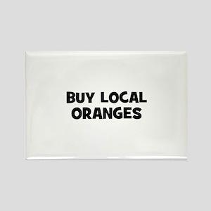 buy local oranges Rectangle Magnet