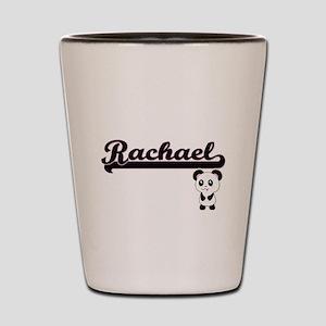 Rachael Classic Retro Name Design with Shot Glass