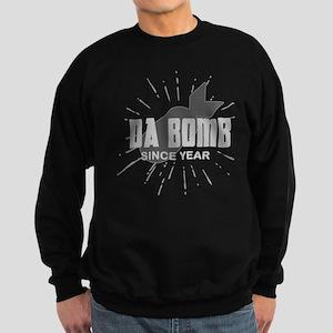 Personalized Birthday The Da Bom Sweatshirt (dark)