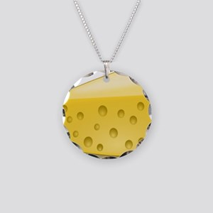 Cheese Chunk Necklace