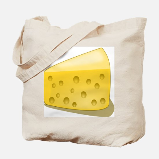 Cheese Chunk Tote Bag