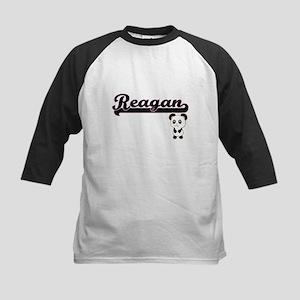 Reagan Classic Retro Name Design w Baseball Jersey