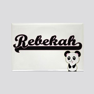 Rebekah Classic Retro Name Design with Pan Magnets